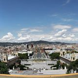 View from Montjuic. Pic credit: Wjh31  on Wikimedia