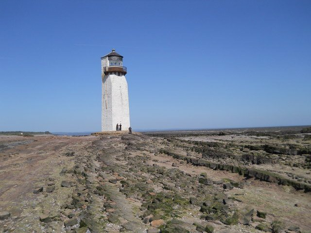 Southerness Lighthouse. Pic credit: David Brown.