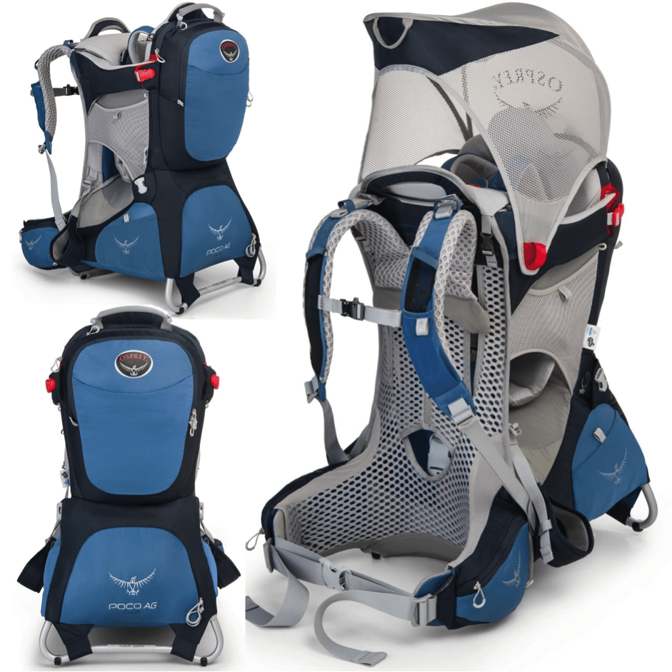 Osprey Poco Ag Premium Back Pack Baby Carrier Fionaoutdoors