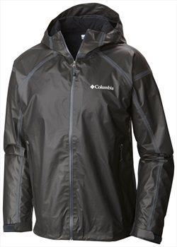 The black and shiny jacket.