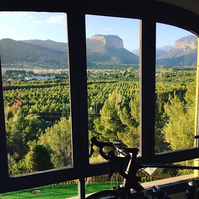View from the villa near Alora.
