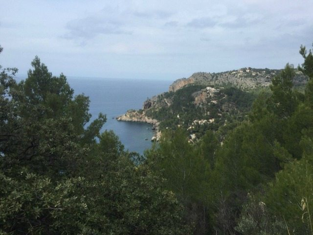 A fantastic view on the north-west coast road of Mallorca.