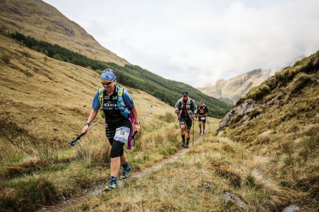 Running and walking the Cape Wrath Ultra. © Ian Corless
