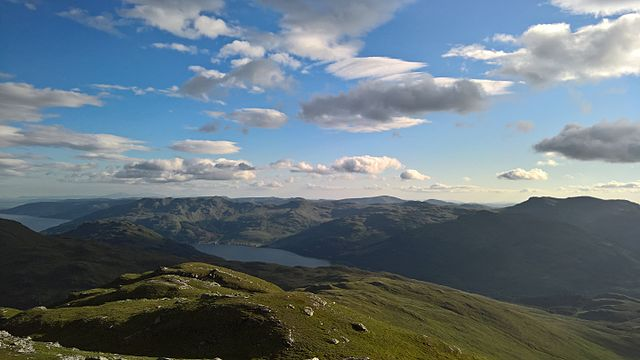 View from summit of Cnoc Coinnich. Pic credit: Marion McCune on Creative Commons licence.