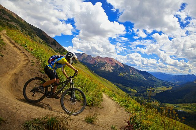 Stay safe on a mountain bike. Pic credit: Zach Dischner