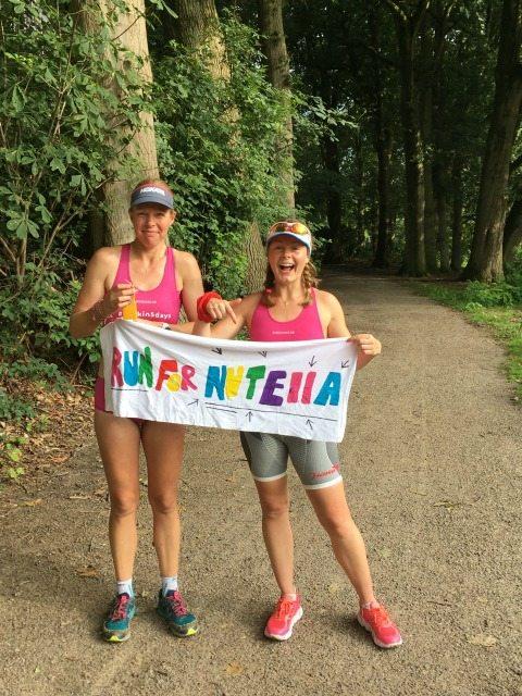 run 500 nuts Lucja, left, Marina, right.JPG