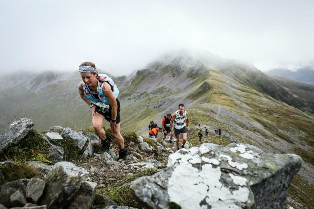 Ring of Steall competitors. Pic credit: Ian Corless