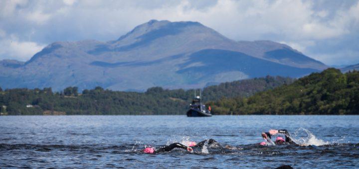 Great Scottish Swim in Loch Lomond.
