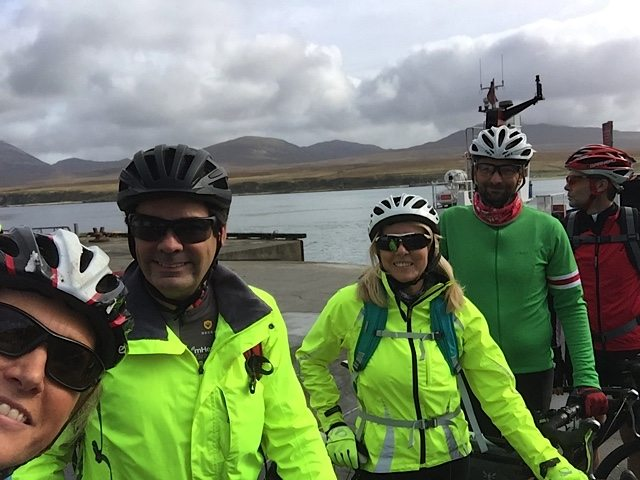 Port Askaig and ready to cycle.