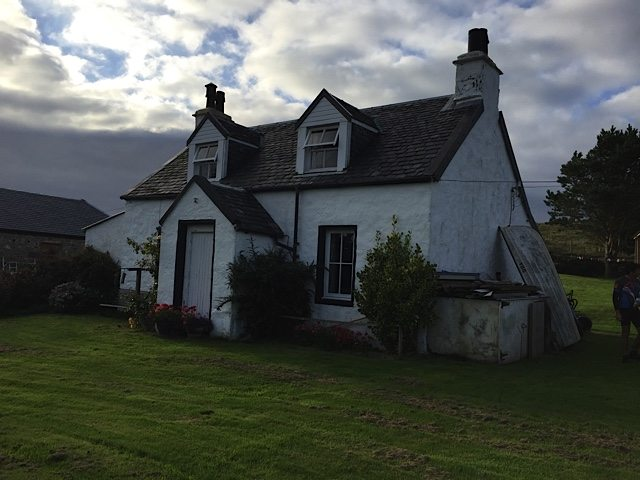 Kilmory cottage.
