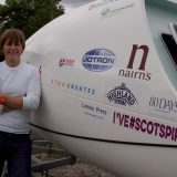 Elaine bids for Atlantic ocean rowing success.