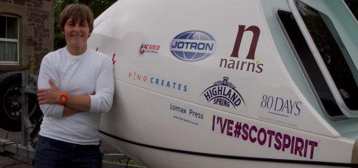 Elaine bids for Atlantic ocean rowing success.