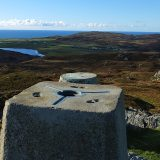 A trig pillar I recently walked to on Colonsay.