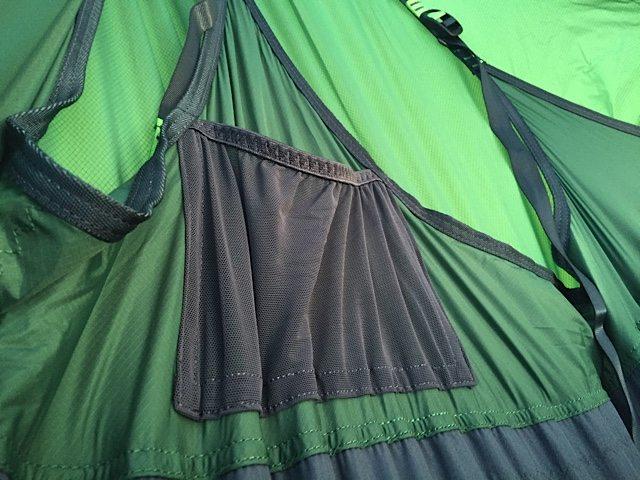Pockets inside the hammock.