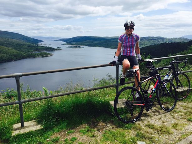 Looking down over the Kyles of Bute.