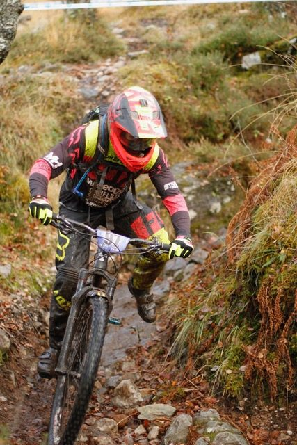Enduro action. Pic credit: Sean Duggan.