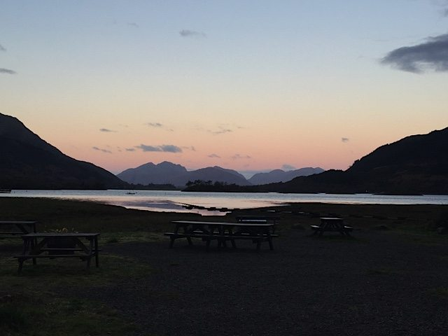 Early morning Glencoe view.