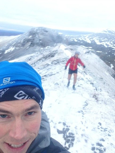 Winter conditions in the Scottish mountains. Pic credit: Tom Owens/Salomon