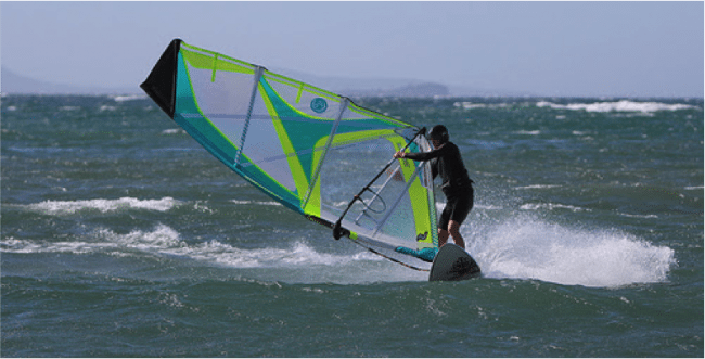 Windsurfing is one of the many watersports to try. Pic credit: texaus1used underCClicense