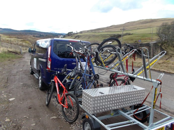bike transport in Scotland