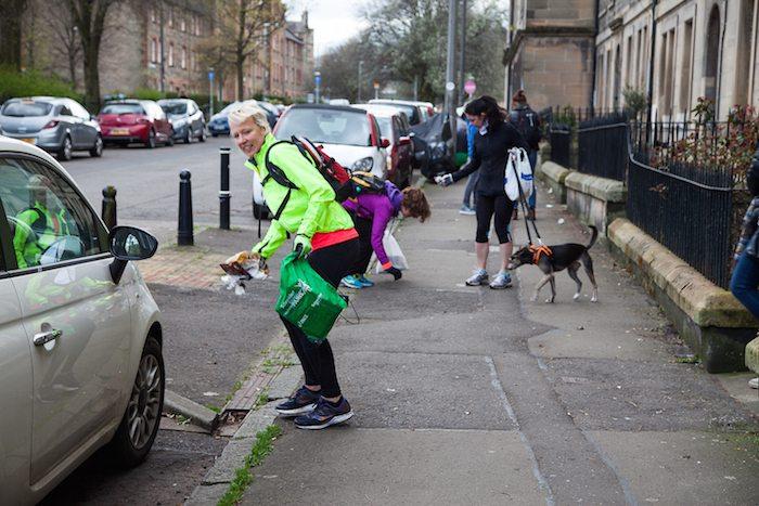 Plogging in Scotland