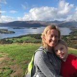 view from conic hill on the West Highland Way