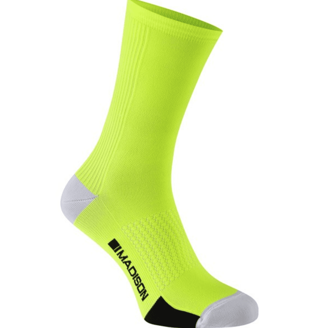 cycling socks hi-viz
