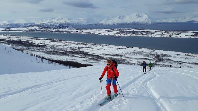 Review: Ski touring Salomon X ALP 30 pack FionaOutdoors