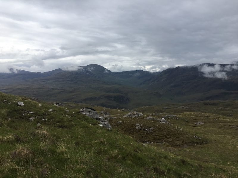 Fantastic scenery in Strathcarron. nw highlands