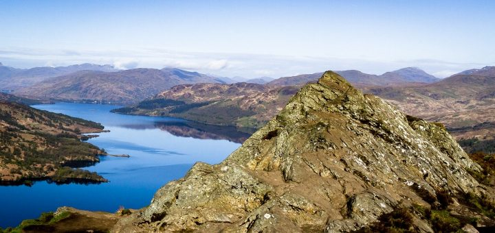 View of Loch Katrine on Heart 200.