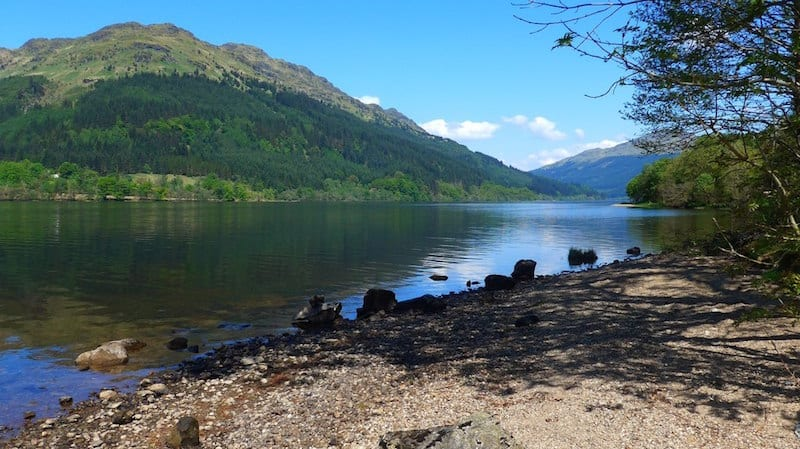 Loch Eck. Credit: Gordon Brown