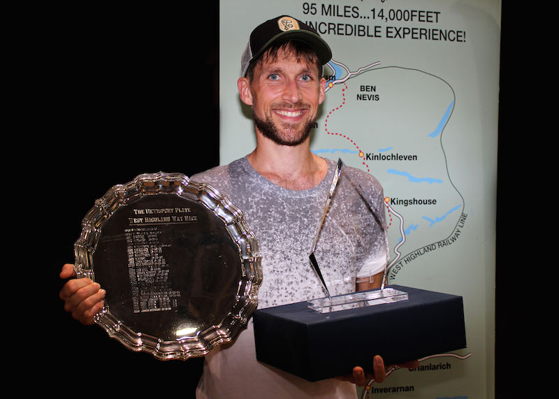 Rob Sinclair winner and record breaker in 2017.