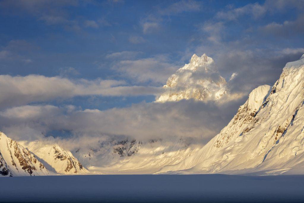 Baintha Brakk (The Ogre), Sim Gang Glacier, Karakoram Mountains, Pakistan. Credit: Colin Prior