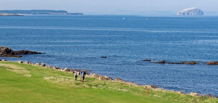 The coast - and plenty of golf courses - are easy to access from Edinburgh.