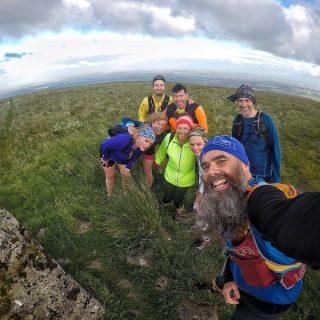 A hill run with TrailFest Scotland.