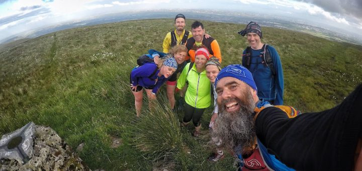 A hill run with TrailFest Scotland.