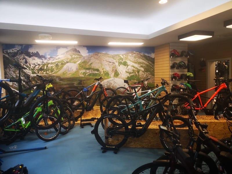 bike shop Killearn