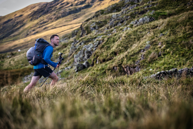 James Forrest on his Wainwrights adventure.