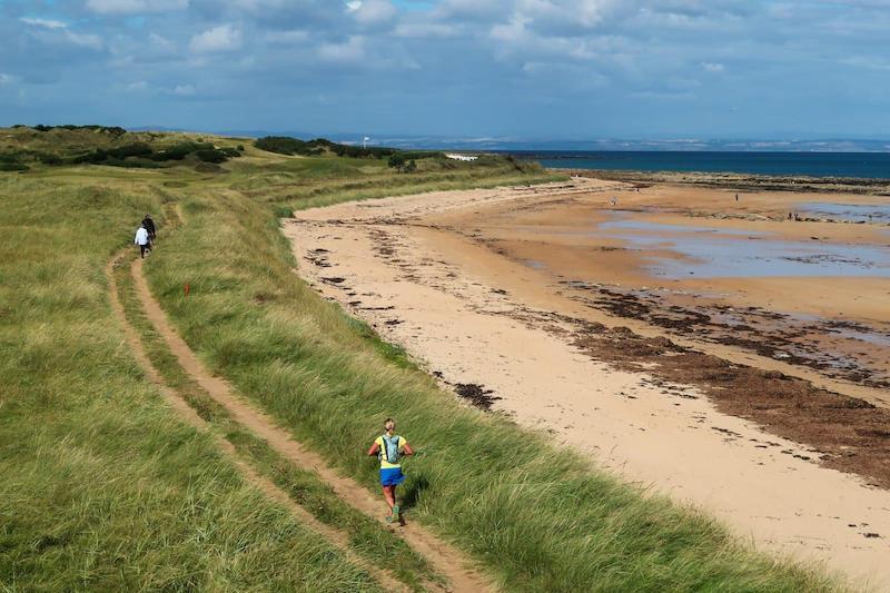 Nicola Dunan sets FKT on Fife Coastal Path.