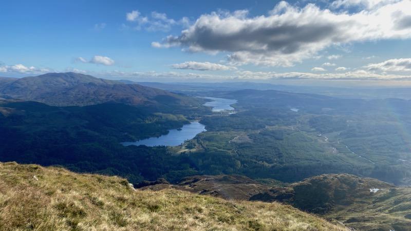 Ben Venue from Loch Ard