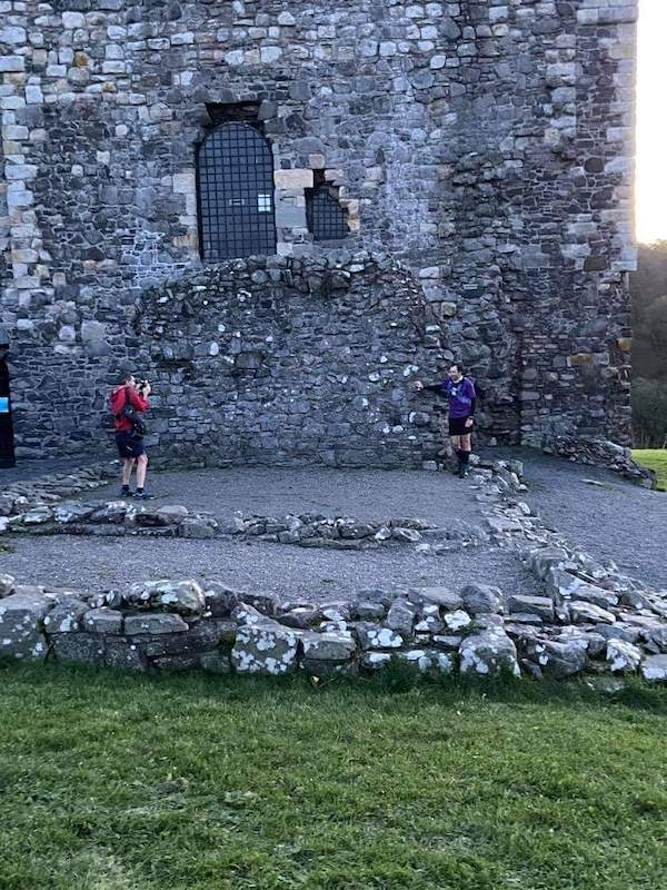 Dundonald Castle is on the Ayrshire Coastal Path.