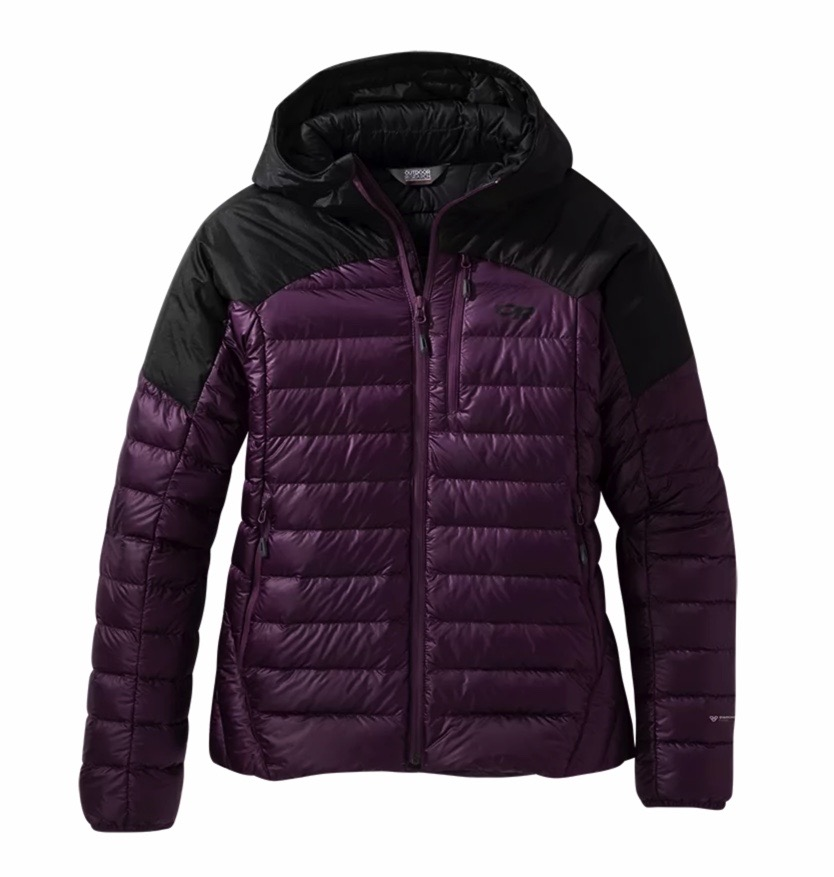 Outdoor Research Women's Hooded Helium Down Jacket