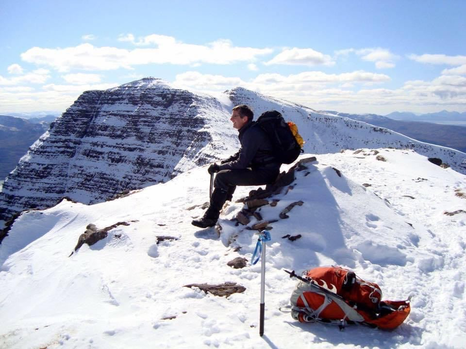 Jim Robertson who died in an accident in the Scottish mountains.